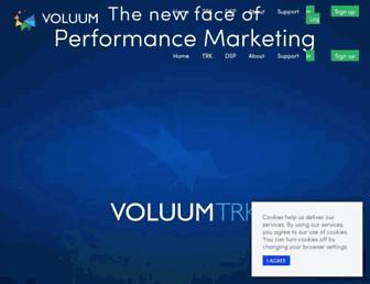 voluum.com screenshot