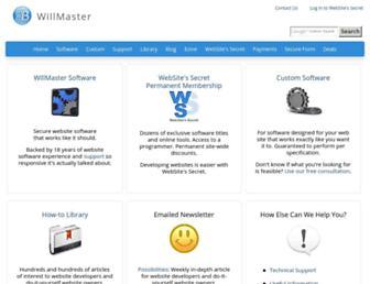 Thumbshot of Willmaster.com