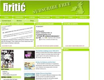 britic.co.uk screenshot
