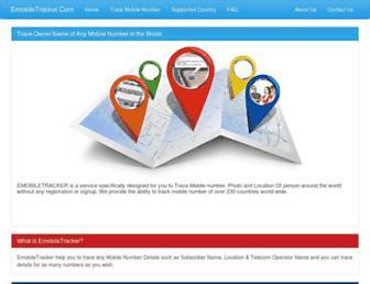 emobiletracker.com screenshot
