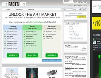 artfacts.net screenshot