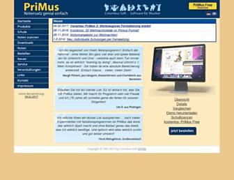 columbussoft.de screenshot