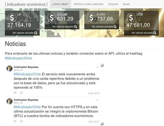 mindicador.cl screenshot