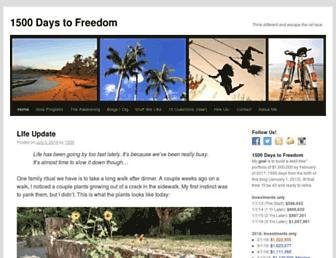 Thumbshot of 1500days.com