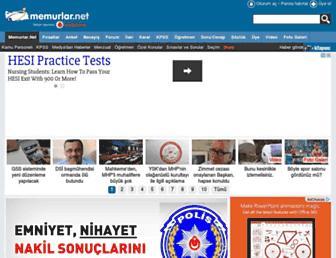 memurlar.net screenshot
