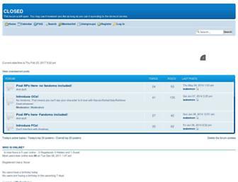 anythingtumblr-close.forumotion.com screenshot