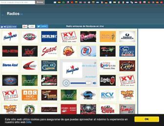 radios.hn screenshot