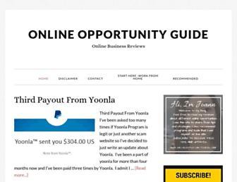 onlineopportunityguide.com screenshot