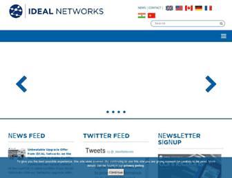 idealnetworks.net screenshot