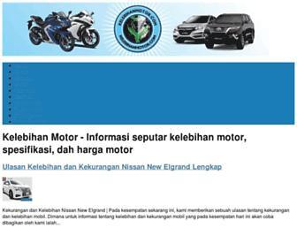 kelebihanmotor.com screenshot