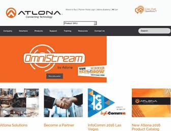 atlona.com screenshot