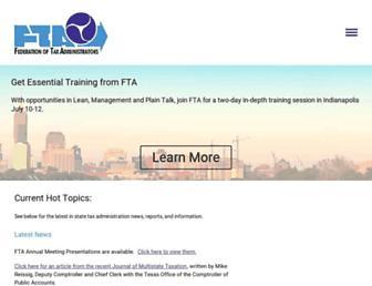 taxadmin.org screenshot