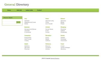 Thumbshot of Generaldirectory.ws