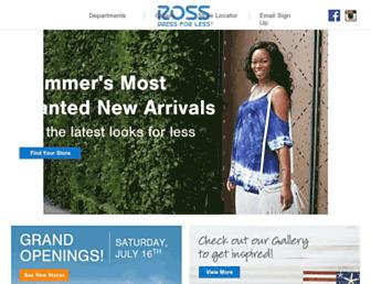 Thumbshot of Rossstores.com