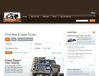 pickuptrucks.com screenshot