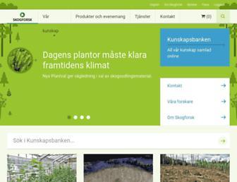 skogforsk.se screenshot