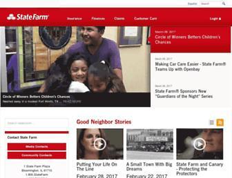 newsroom.statefarm.com screenshot