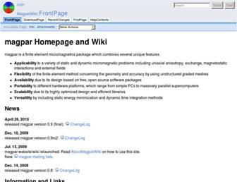magpar.net screenshot
