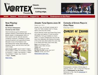 vortexabq.org screenshot