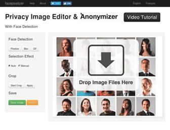 facepixelizer.com screenshot