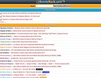 remixrock.com screenshot