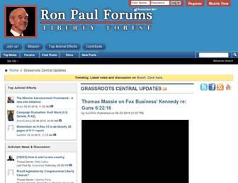 Thumbshot of Ronpaulforums.com