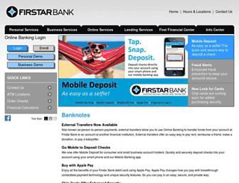 firstar-bank.com screenshot