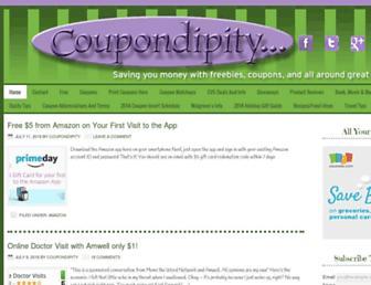 Thumbshot of Coupondipity.com