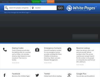 Thumbshot of Whitepages.co.za