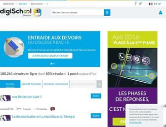 Thumbshot of Devoirs.fr