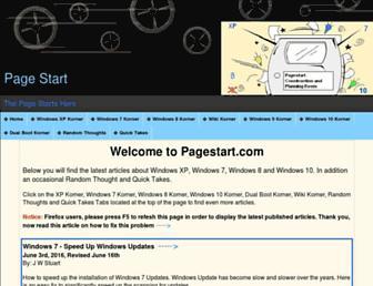 pagestart.com screenshot