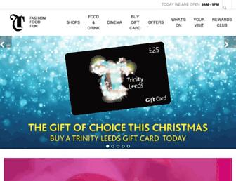 trinityleeds.com screenshot