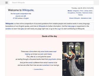 en.m.wikiquote.org screenshot