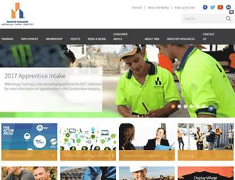 mba.org.au screenshot