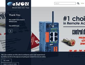 ewon.biz screenshot