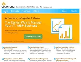 commitcrm.com screenshot