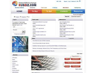 Thumbshot of Rusbiz.com