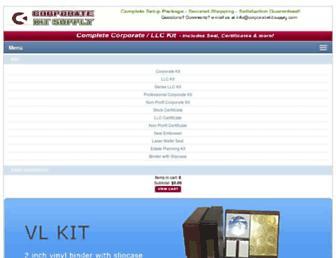 corporatekitsupply.com screenshot