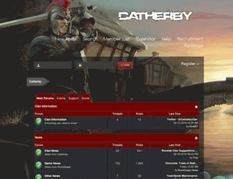 catherby.com screenshot