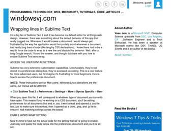 windowsvj.com screenshot