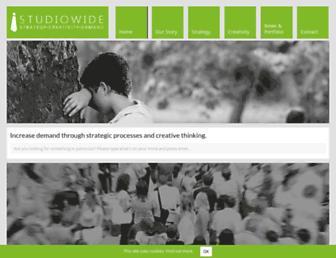 studiowide.co.uk screenshot