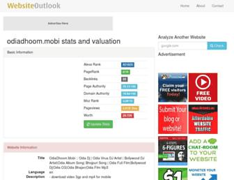 odiadhoom.mobi.websiteoutlook.com screenshot