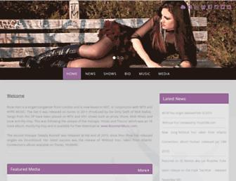 rosehartmusic.com screenshot