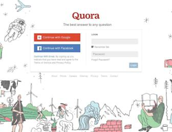 Thumbshot of Quora.com