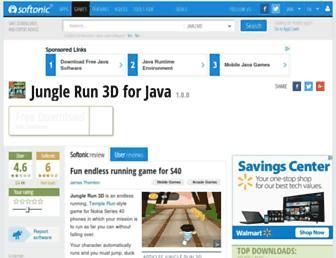 jungle-run-3d.en.softonic.com screenshot