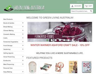 greenlivingaustralia.com.au screenshot