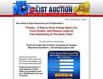 Thumbshot of Thelistauction.com