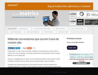 doctormetrics.com screenshot