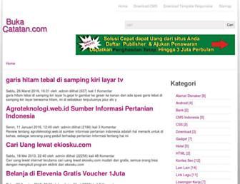 bukacatatan.com screenshot
