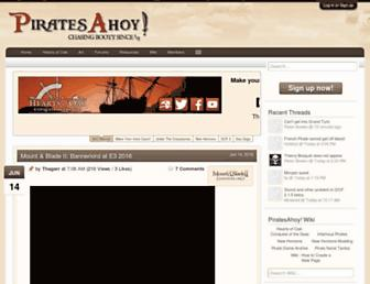 piratesahoy.net screenshot